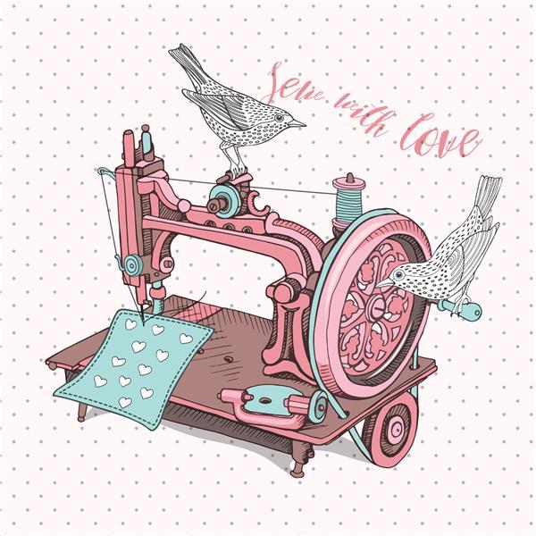 Einweisung in die eigene Nähmaschine