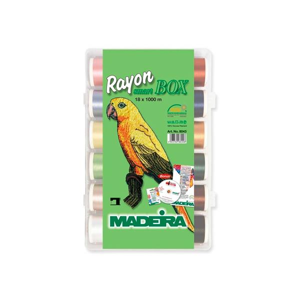 Madeira Smart Box Rayon 18x 1000m