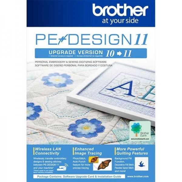Brother PE-Design Upgrade V10 auf 11