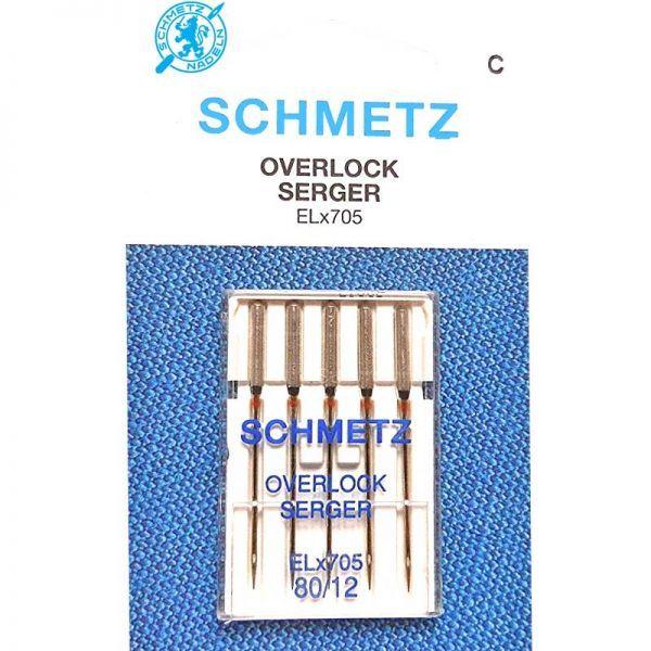 Schmetz Overlock ELX705 CF