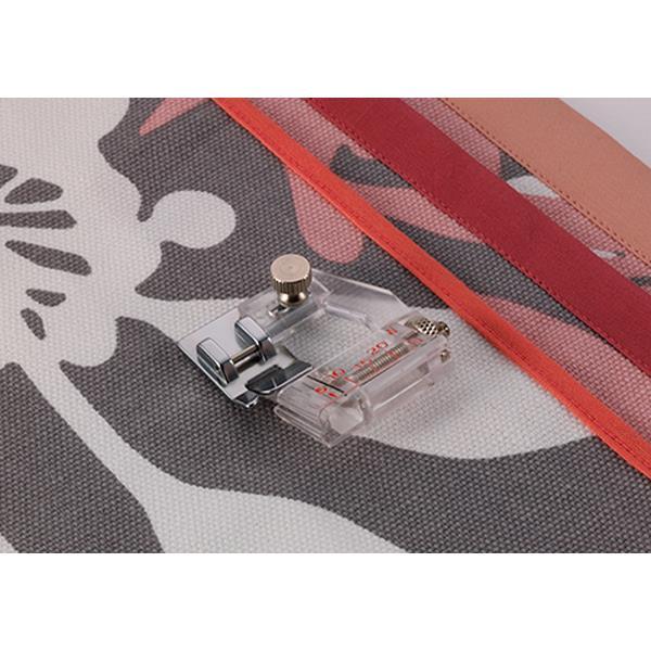 Schrägband-Einfasser, einstellbar passend für Brother